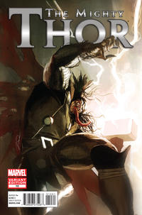 Cover Thumbnail for The Mighty Thor (Marvel, 2011 series) #10 [Venom Variant]