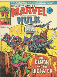 Cover Thumbnail for The Mighty World of Marvel (Marvel UK, 1972 series) #98