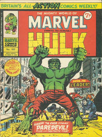 Cover Thumbnail for The Mighty World of Marvel (Marvel UK, 1972 series) #107