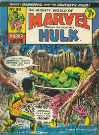 Cover Thumbnail for The Mighty World of Marvel (Marvel UK, 1972 series) #89