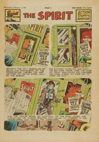 Cover Thumbnail for The Spirit (Register and Tribune Syndicate, 1940 series) #2/11/1951