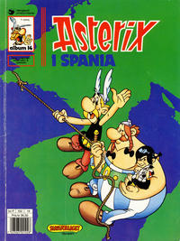 Cover Thumbnail for Asterix (Hjemmet / Egmont, 1969 series) #14 - Asterix i Spania [5. opplag]