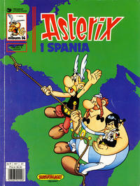 Cover Thumbnail for Asterix (Hjemmet / Egmont, 1969 series) #14 - Asterix i Spania [5. opplag Reutsendelse 147 37]