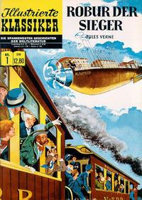 Cover Thumbnail for Illustrierte Klassiker [Classics Illustrated] (Norbert Hethke Verlag, 1991 series) #1 - Robur der Sieger