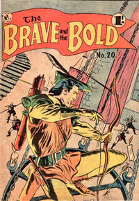 Cover Thumbnail for The Brave and the Bold (K. G. Murray, 1956 series) #20