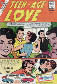 Cover Thumbnail for Teen-Age Love (Charlton, 1958 series) #16