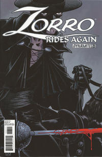 Cover Thumbnail for Zorro Rides Again (Dynamite Entertainment, 2011 series) #6