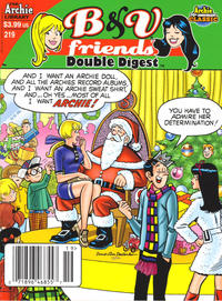 Cover Thumbnail for B&V Friends Double Digest Magazine (Archie, 2011 series) #219 [Newsstand]