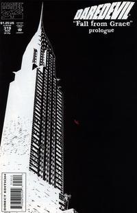 Cover Thumbnail for Daredevil (Marvel, 1964 series) #319 [2nd Print Variant Cover]