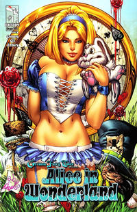 Cover Thumbnail for Grimm Fairy Tales Presents Alice in Wonderland (Zenescope Entertainment, 2012 series) #1 [Cover B - Eric Basaldua]