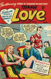 Cover Thumbnail for Teenage Love (Magazine Management, 1952 ? series) #20