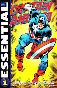 Cover Thumbnail for Essential Captain America (Marvel, 2000 series) #1 [2nd printing]