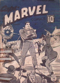 Cover Thumbnail for Captain Marvel Comics (Anglo-American Publishing Company Limited, 1942 series) #v3#1