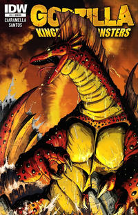 Cover for Godzilla: Kingdom of Monsters (IDW, 2011 series) #11