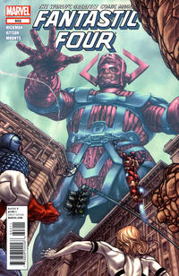 Cover Thumbnail for Fantastic Four (Marvel, 2012 series) #602