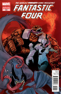 Cover for Fantastic Four (Marvel, 2012 series) #602