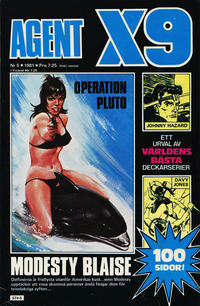 Cover Thumbnail for Agent X9 (Semic, 1971 series) #5/1981