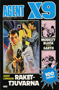 Cover Thumbnail for Agent X9 (Semic, 1971 series) #6/1985