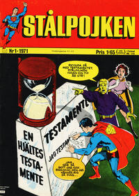 Cover Thumbnail for Stålpojken (Williams Förlags AB, 1969 series) #1/1971