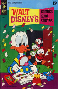 Cover Thumbnail for Walt Disney's Comics and Stories (Western, 1962 series) #v30#7 (355)