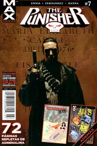 Cover Thumbnail for Marvel Max: The Punisher (Editorial Televisa, 2011 series) #7
