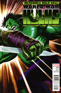 Cover Thumbnail for Incredible Hulk (Marvel, 2009 series) #611 [Direct Edition]