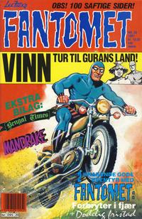 Cover for Fantomet (Semic, 1976 series) #20/1991