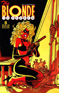 Cover Thumbnail for The Blonde: 12 Pearls (Fantagraphics, 1996 series) #5