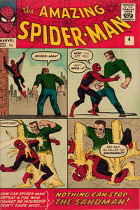 Cover Thumbnail for The Amazing Spider-Man (Marvel, 1963 series) #4 [British]