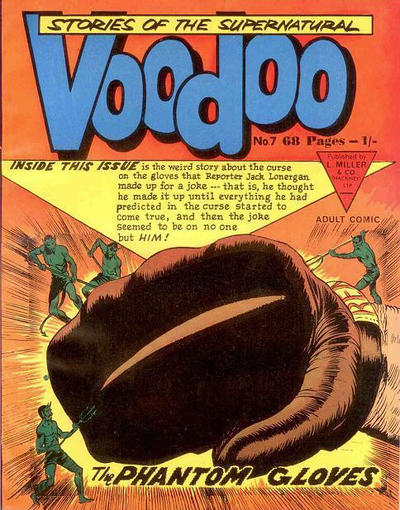 Cover for Voodoo (L. Miller & Son, 1961 series) #7