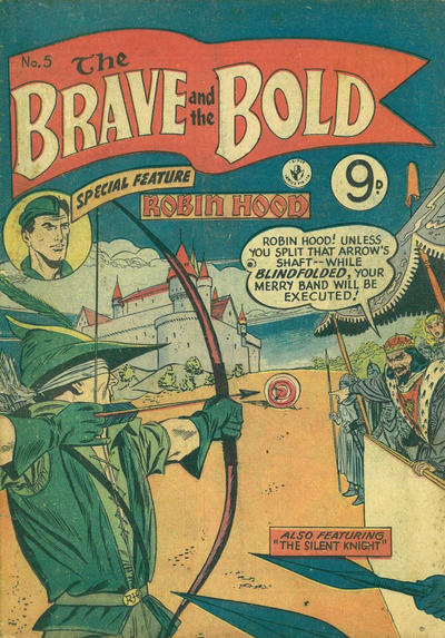 Cover for The Brave and the Bold (K. G. Murray, 1956 series) #5