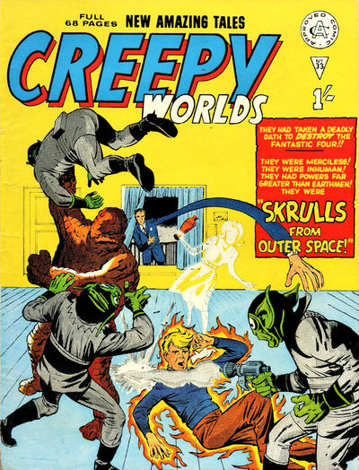 Cover for Creepy Worlds (Alan Class, 1962 series) #33