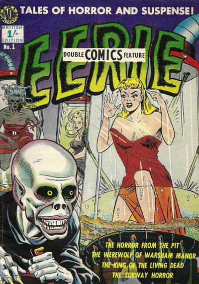 Cover for Eerie (Thorpe & Porter, 1952 series) #1