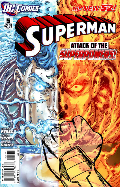 Cover for Superman (DC, 2011 series) #5