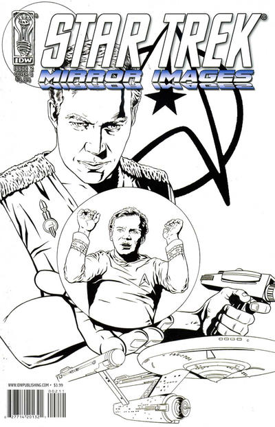 Cover for Star Trek: Mirror Images (IDW, 2008 series) #2 [Cover A - Joe Corroney]