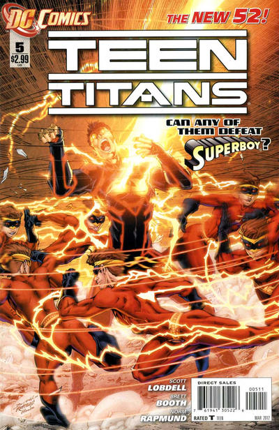 Cover for Teen Titans (DC, 2011 series) #5