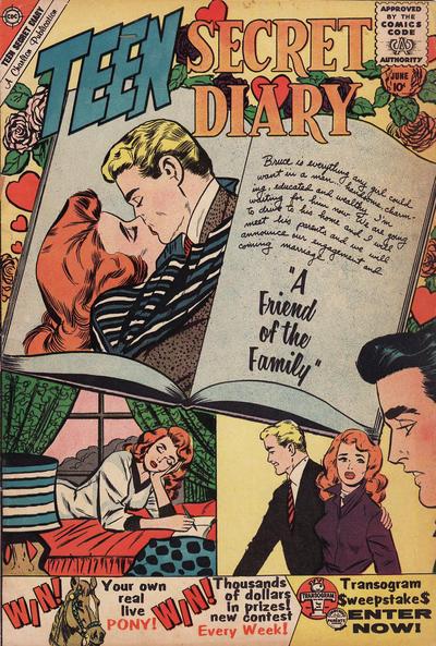 Cover for Teen Secret Diary (Charlton, 1959 series) #5