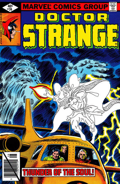 Cover for Doctor Strange (Marvel, 1974 series) #36 [Direct Edition]