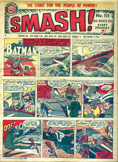 Cover for Smash! (IPC, 1966 series) #111