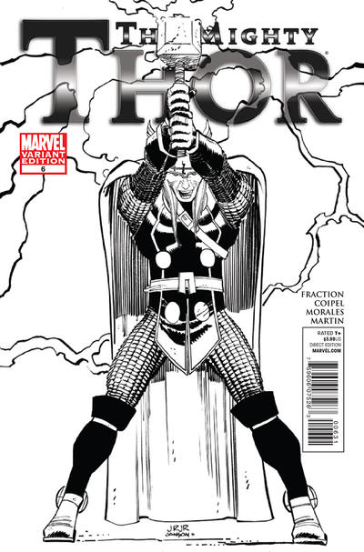 Cover for The Mighty Thor (Marvel, 2011 series) #6