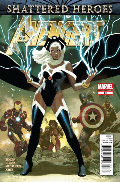 Cover for Avengers (Marvel, 2010 series) #21