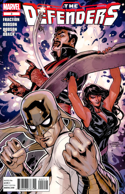 Cover for Defenders (Marvel, 2012 series) #2 [Variant Cover by Mark Bagley]