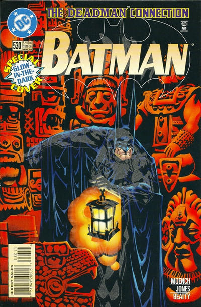 Cover for Batman (DC, 1940 series) #530 [Glow-in-the-dark]