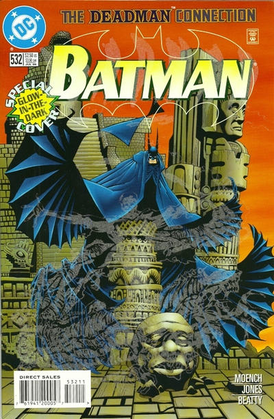 Cover for Batman (DC, 1940 series) #532 [Regular Direct Sales Edition]
