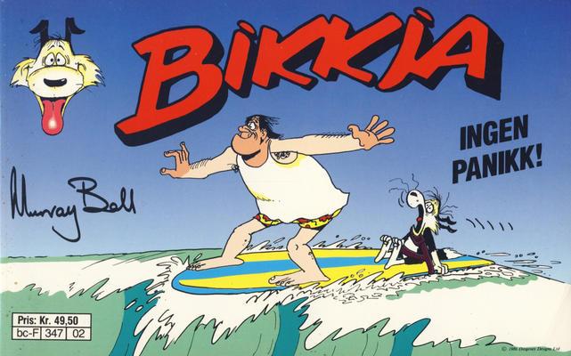 Cover for Bikkja (Semic, 1991 series) #2
