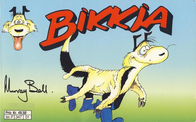 Cover for Bikkja (Semic, 1991 series) #[1]