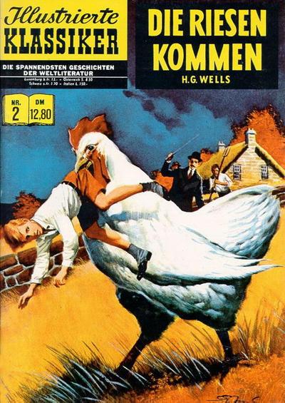 Cover for Illustrierte Klassiker [Classics Illustrated] (Norbert Hethke Verlag, 1991 series) #2 - Die Riesen kommen