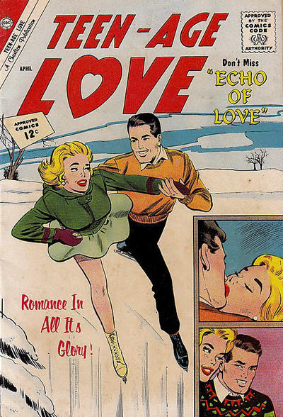 Cover for Teen-Age Love (Charlton, 1958 series) #25
