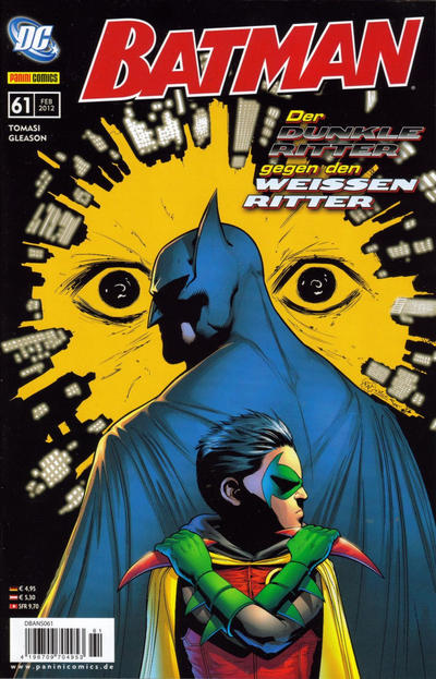 Cover for Batman (Panini Deutschland, 2007 series) #61