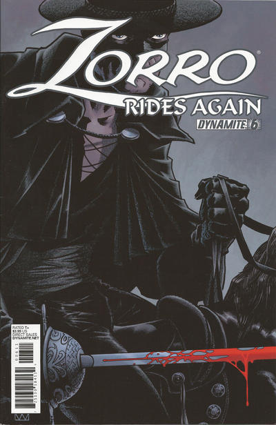 Cover for Zorro Rides Again (Dynamite Entertainment, 2011 series) #6